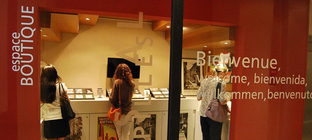 boutique musée