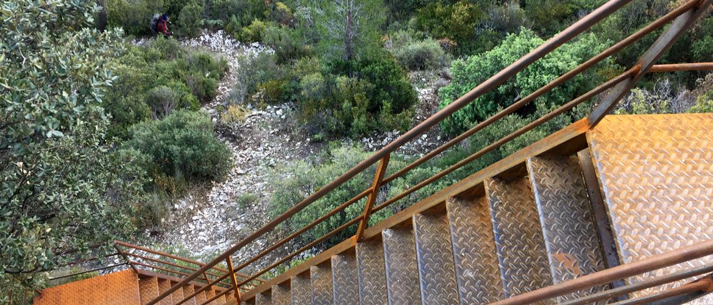 Parcours des échelles du mont Gaussier