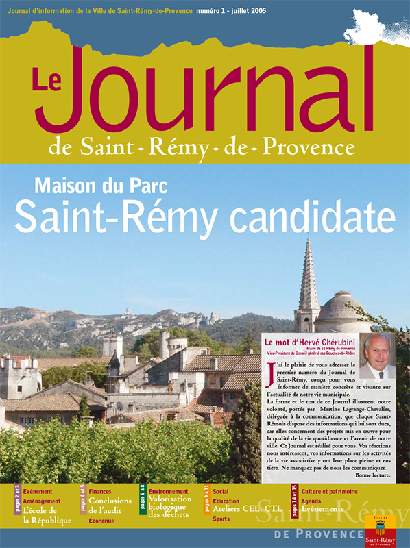 Journal de Saint-Rémy-de-Provence n°1