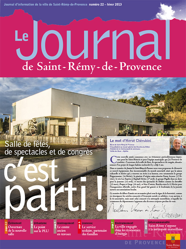 Journal de Saint-Rémy-de-Provence n°22