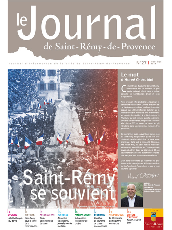 Journal de Saint-Rémy-de-Provence n°27