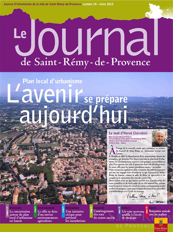 Journal de Saint-Rémy-de-Provence n°19