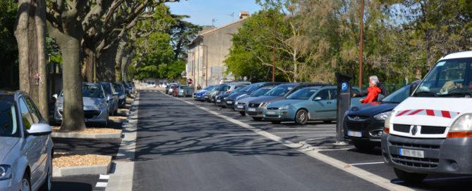 L'avenue Charles-Mauron rénovée