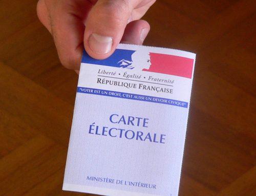 Dernière semaine pour s'inscrire sur les listes électorales