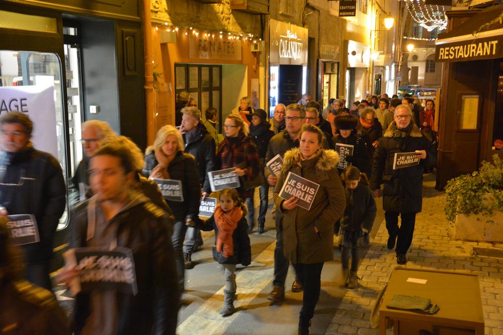 Hommage à Charlie Hebdo le mercredi 7 janvier 2015