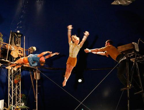 Le Cirque Poussière en «timelapse»