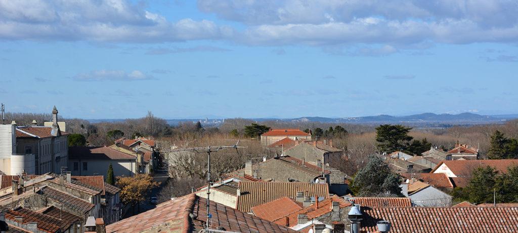Les toits de Saint-Rémy-de-Provence