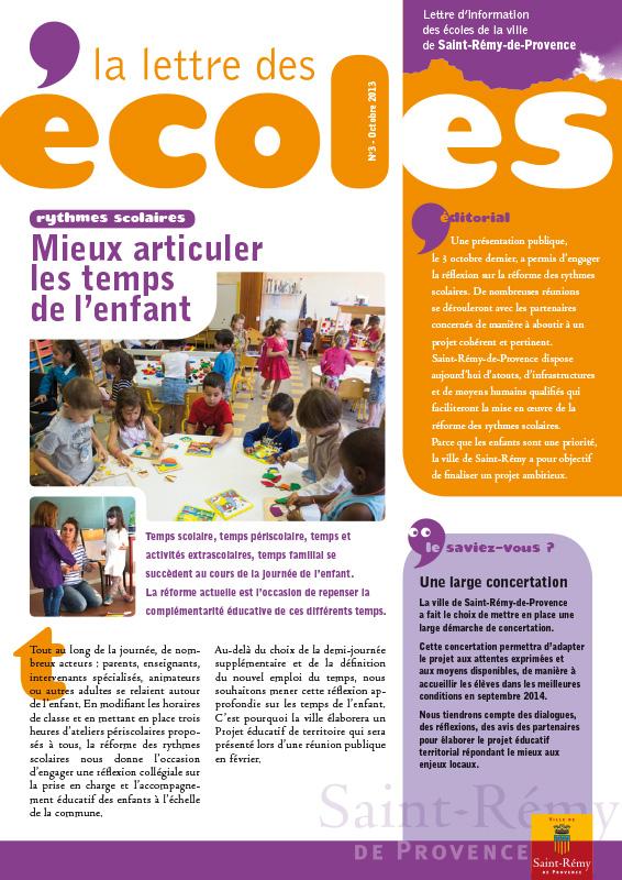 Lettre Ecoles 3