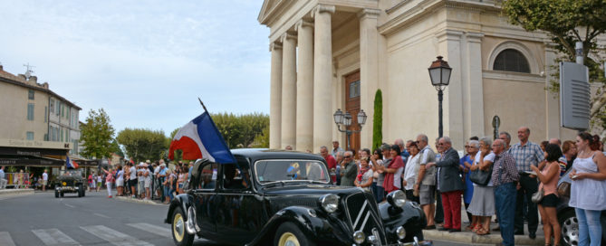 Commémoration de la Libération, le 25 août 2014