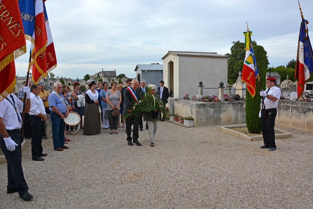 Commémoration de la Libération le 25 août 2014