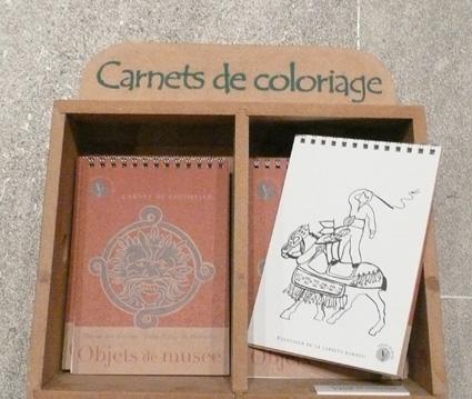 carnet coloriages