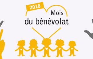 Le mois du bénévolat 2018
