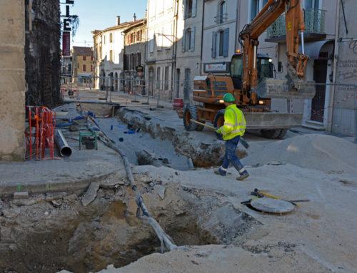 L'accès au parking par l'avenue de la Libération fermé encore quelques jours