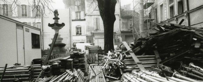Chantier de rénovation du musée des Alpilles
