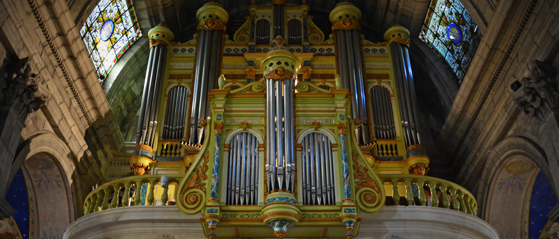 L'orgue de la collégiale Saint-Martin