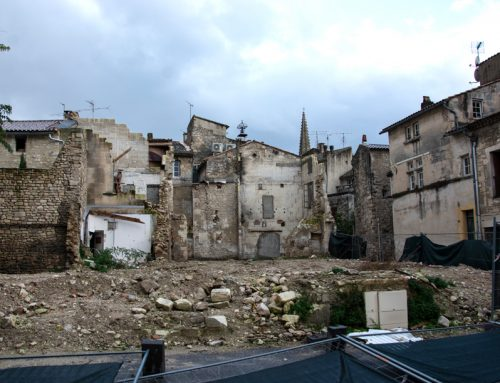 Les déchets de chantier de la place Raoul-Tourtet évacués