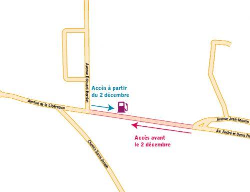 Avenue de la Libération : sens de la circulation modifié