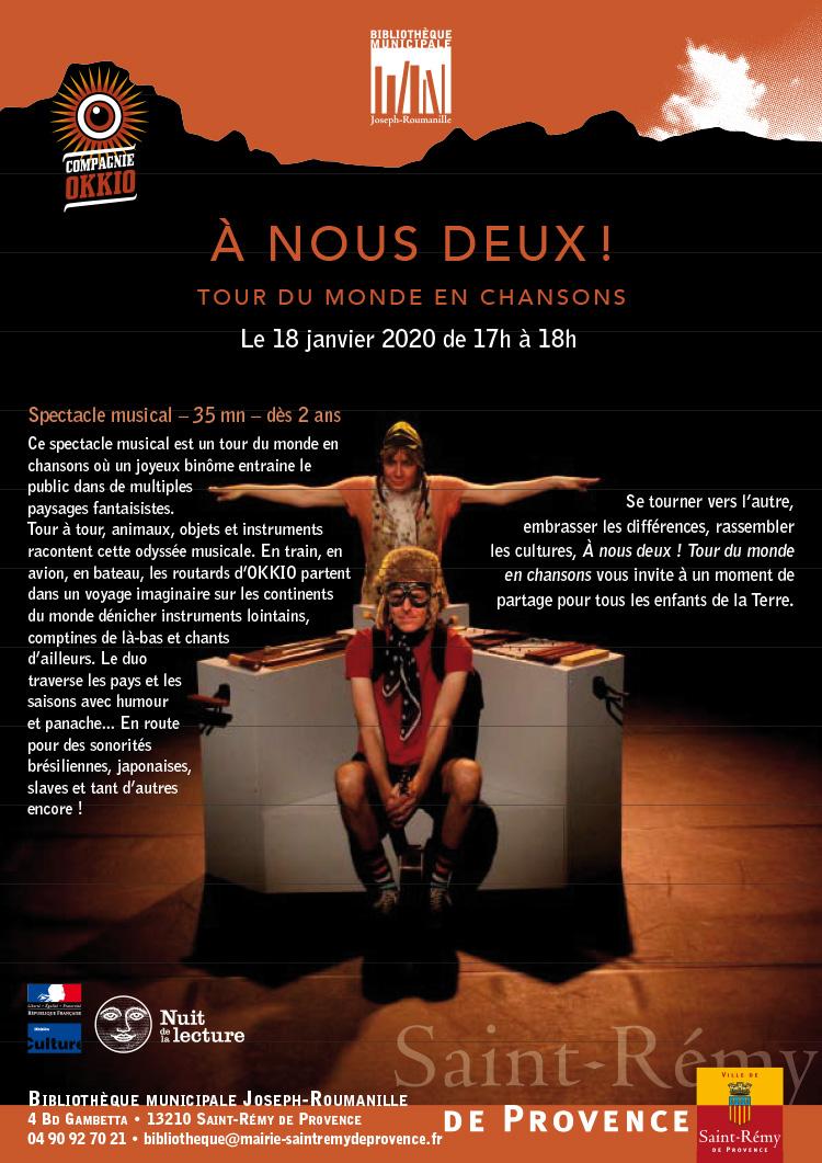 Nuit de la lecture – Ville de Saint-Rémy-de-Provence
