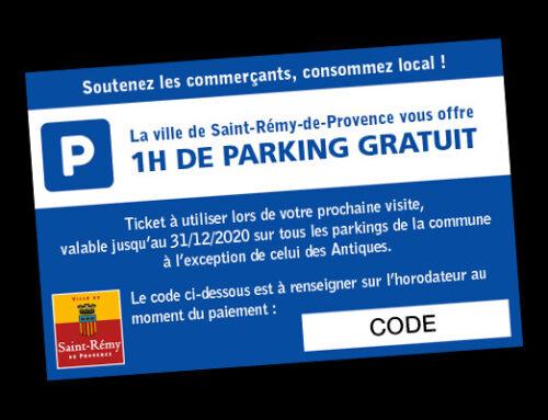 Tuto : comment utiliser son ticket d'une heure gratuite de parking