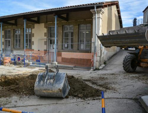 L'accès aux services municipaux du parking de la Libération modifié
