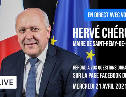 Facebook live : le Maire en direct avec vous