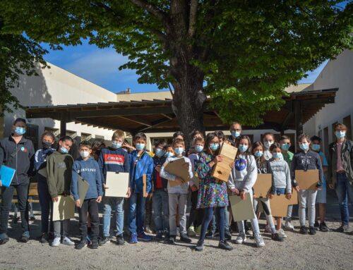 Les écoliers de la République se mobilisent pour les chauves-souris