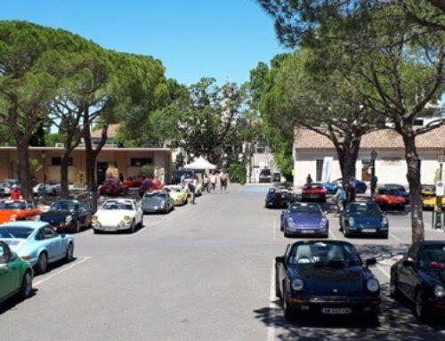 Départ de la 14e Fête des Classics Porsche samedi sur la place Jean-Jaurès