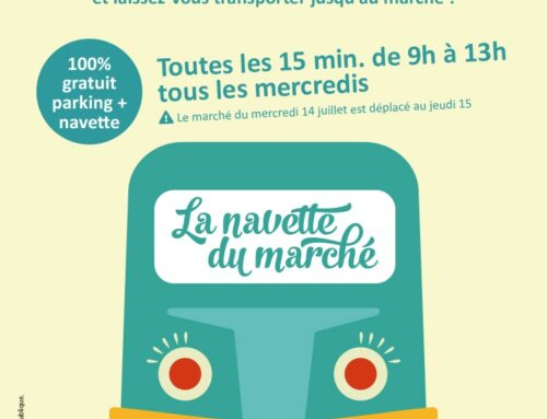 Nouveau à Saint-Rémy : la Navette du marché
