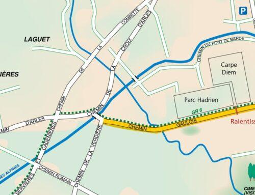 """Circulation : création d'une """"zone de rencontre"""" au Chemin gaulois"""