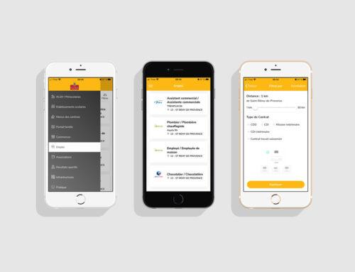 Retrouvez les offres d'emploi sur notre appli mobile